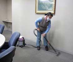 掃除作業の様子